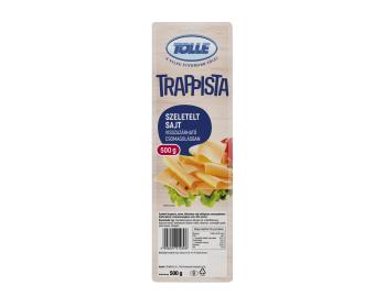 Szeletelt trappista sajt, visszazárható