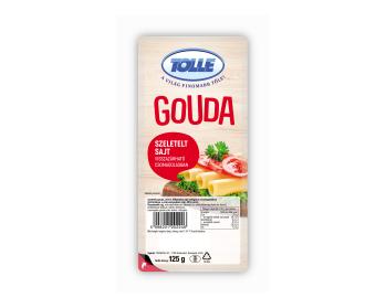 Gouda sajt védőgázas szeletelt