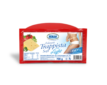 LIGHT felezett trappista sajt